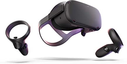 Oculus Quest All-in-one VR Gaming Headset – 128GB (Renewed)