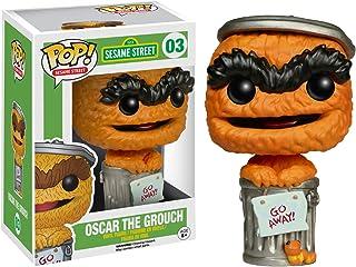 Funko Oscar The Grouch (EE Exclusive): Sesame Street x POP! Vinyl Figure & 1 POP! Compatible PET Plastic Graphical Protect...