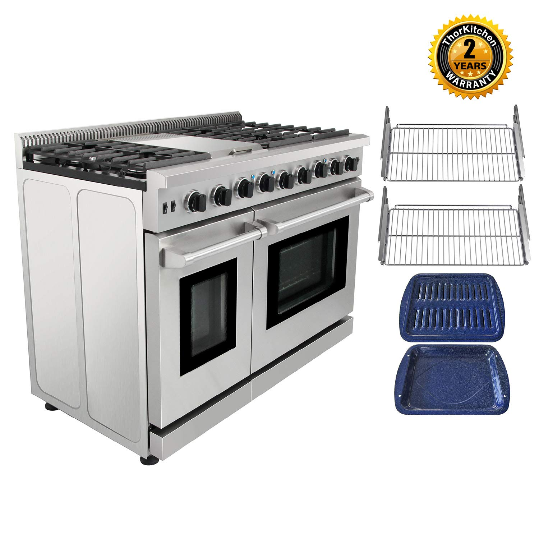 Thor Kitchen Pro Style LRG4801U Stainless