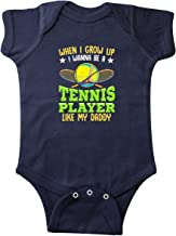 inktastic Future Tennis Player Like Daddy Infant Creeper