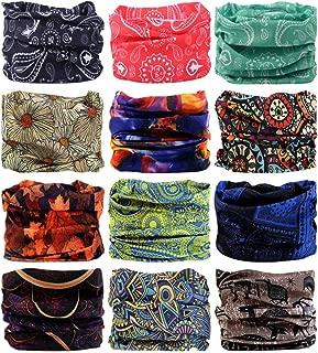 LANCHY Headwear Bandanas Face Mask Headband Head Wrap magic scarf for men & women