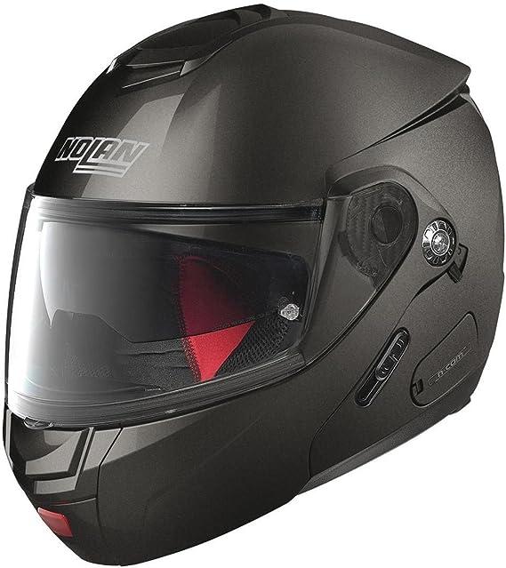 Nolan N90 2 Classic N Com Helm S 56 Schwarz Matt Auto