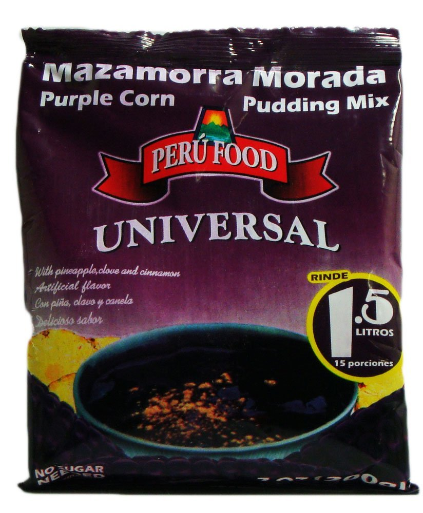 Peru Food Mazamorra Morada Purple Corn Pudding Mix 7 Oz.
