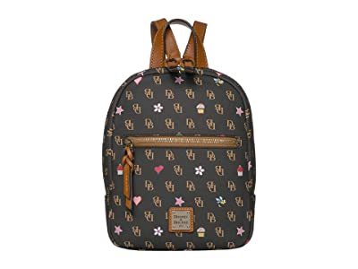 Dooney & Bourke Gretta Novelty Small Ronnie Backpack (Brown T