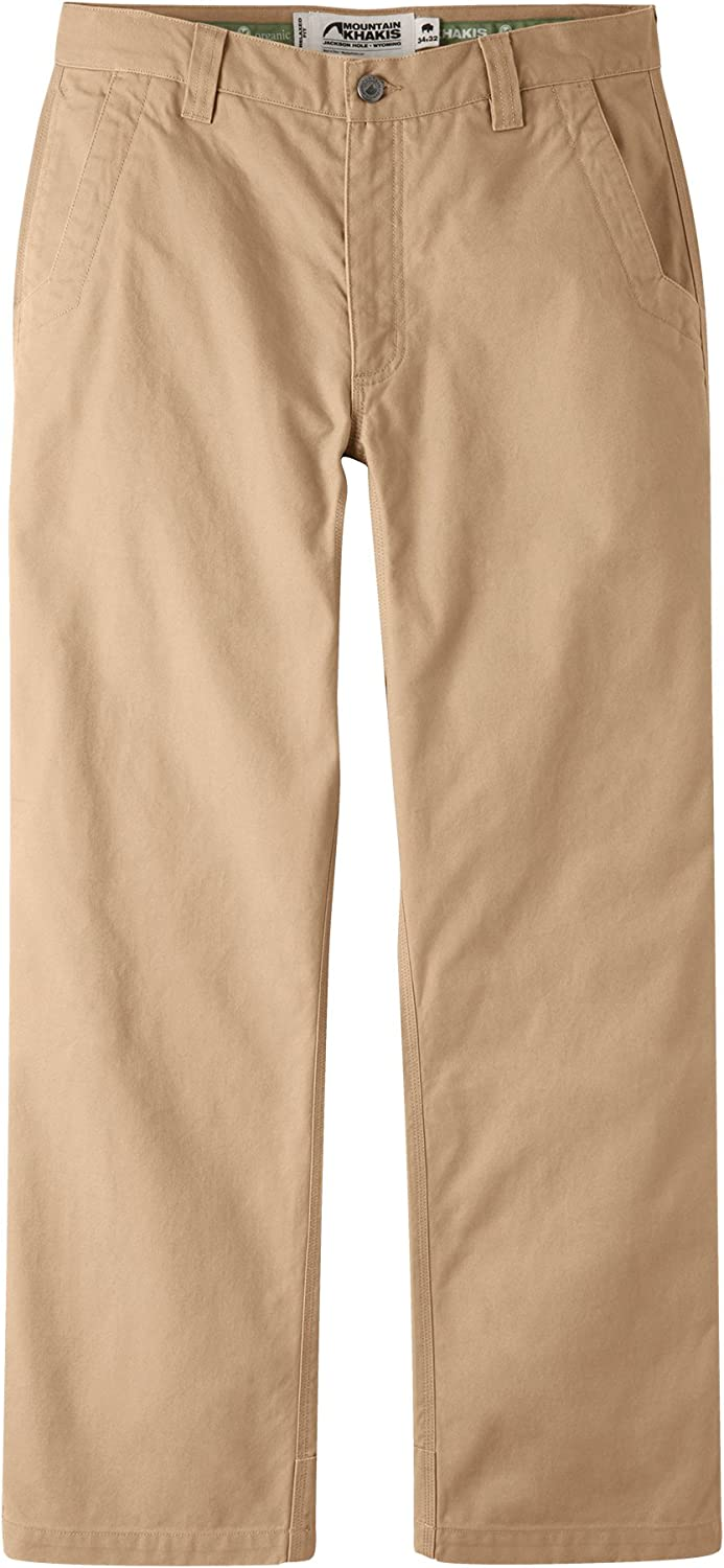 49b64e69db9747 Mountain Mountain Mountain Khakis Men's Organic Original Mountain Pant  Relaxed Fit 677ac9