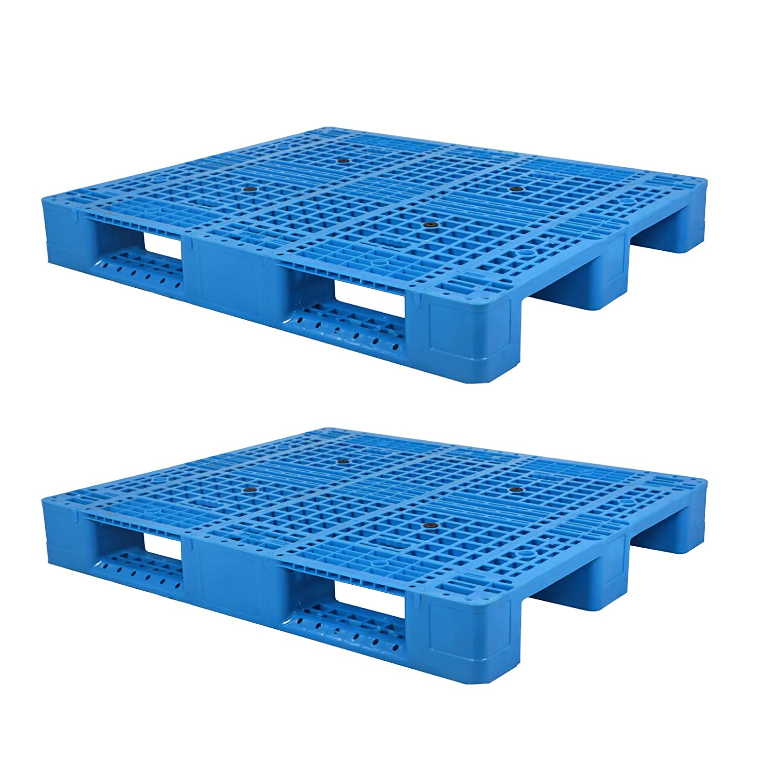 Xilin 2 Pcs Plastic 55% OFF Pallet and Nashville-Davidson Mall Skid Static Entry L 4 Way with