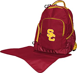 Lil Fan Collegiate Diaper Backpack Collection, Univ Souther California Trojans