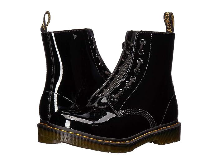 Shop Dr Martens 1460 Pascal WZip Black   Platypus Shoes