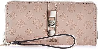 Luxury Fashion | Guess Womens SWSG7398460LATTE Pink Wallet | Fall Winter 19