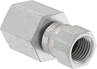 End Size 3//4 JIC f Eaton Aeroquip 2239-12-12S Female Bulkhead Connector 3//4 Female Pipe Size x 3//4 NPT 3//4 Tube OD JIC 37 Degree /& NPT End Types m Carbon Steel