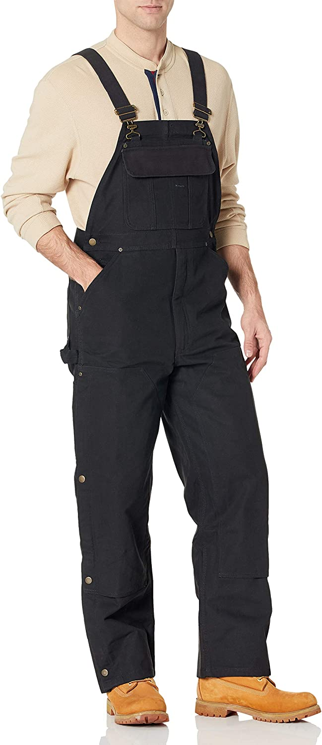 Amazon Essentials Men's Duck Bib Lined 日本正規代理店品 Quilt Overall 発売モデル
