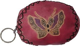 جلد متعدد الالوان لل بنات - حقائب صغيرة للنقود المعدنية