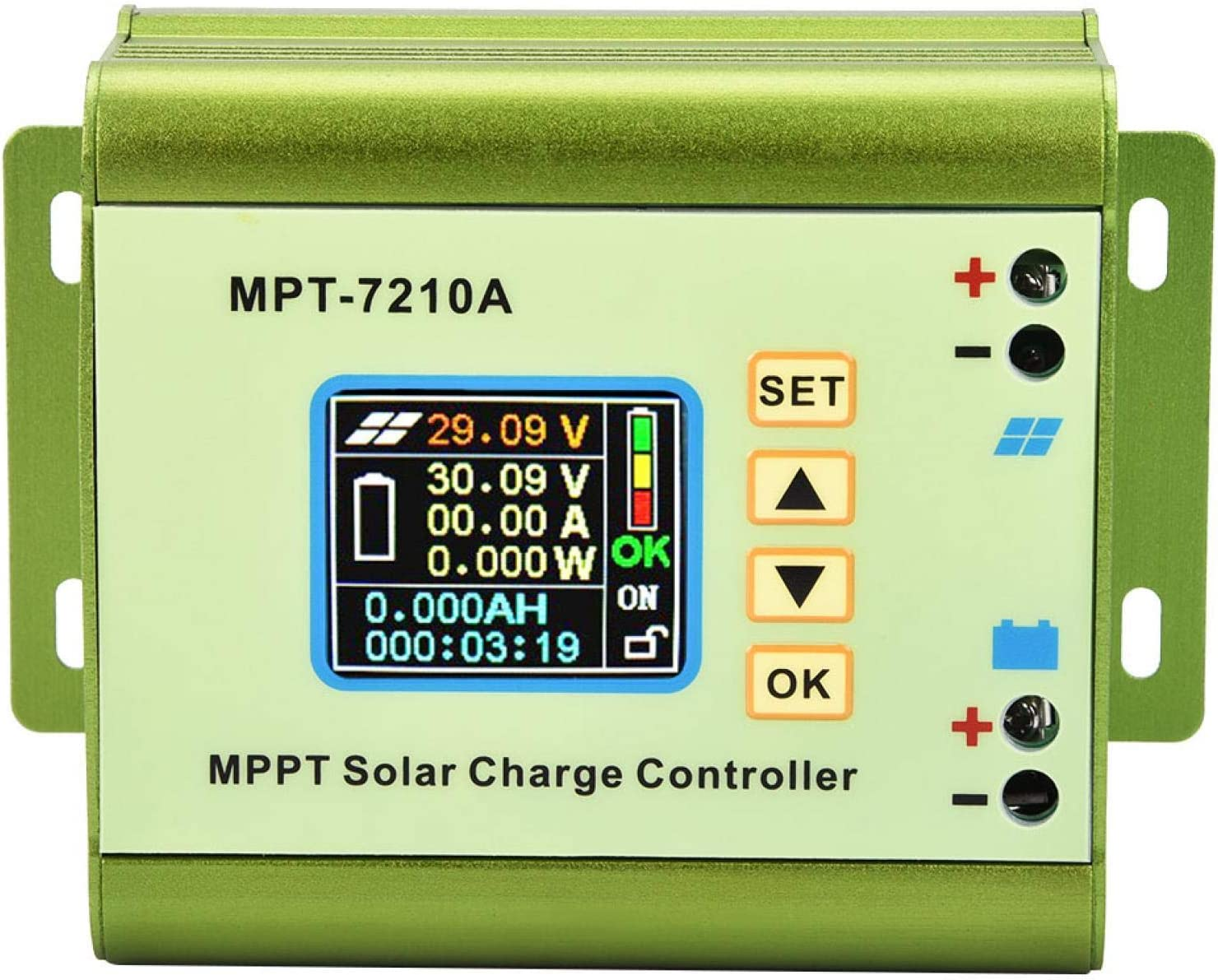 67% OFF of fixed price Multi-Protected Solar Regulator Alumin Max 90% OFF Charge Controller