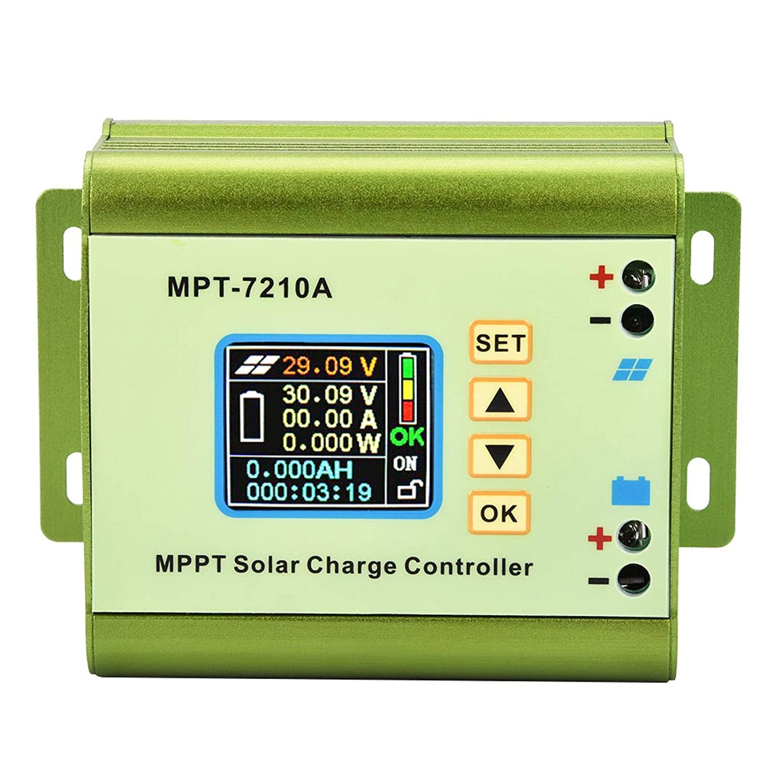 EVTSCAN Latest Charge 40% OFF Cheap Sale Controller- MPPT MPT-7210 Free shipping Controller Solar