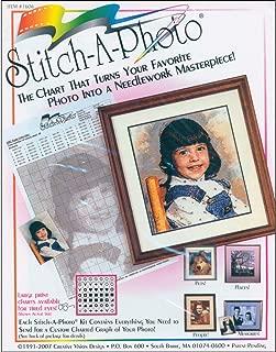 Creative Vision Designs Stitch-A-Photo Art and Craft Kit