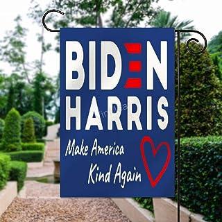 """VinMea Home Garden Flag Make America Kind Again Biden Harris Decorative Flag Double Sided Polyester Outdoor Decor Flag 12""""..."""