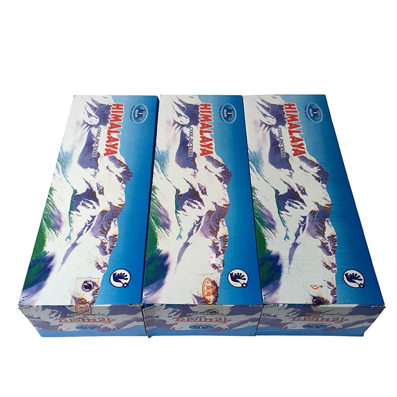 静める問い合わせる唯一ヒマラヤ香スティック 3BOX(18箱) /BIC HIMARAYA/インセンス/インド香 お香 [並行輸入品]
