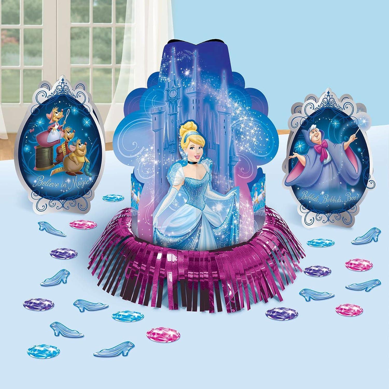 entrega gratis Cinderella 'Sparkle' Table Decorating Decorating Decorating Kit (23pc) by Amscan  calidad de primera clase