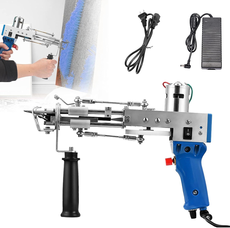 ZZJCY Electric Cut Pile Trust Rug Tufting Efficiency Mut High and Gun Max 45% OFF