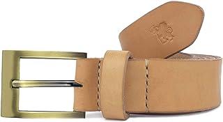 Cintura in cuoio uomo artigianale Hermena personalizzabile gratis