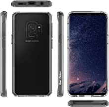 Bear Motion for S9 - Shockproof TPU Bumper + Anti-Scratch Hard PC Back Cover for Samsung Galaxy S9 (Clear, Galaxy S9)