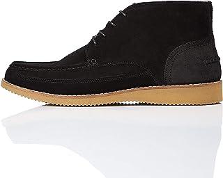 Marque Amazon - find. Wedge Sole Leather, Bottes Chukka garçon