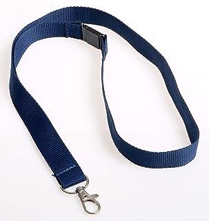 OPUS 2 Lacet de Textile Universel, 44cm, 121277, Bleu, lot de 10