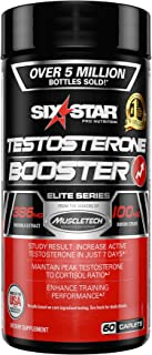 Testosterone Booster for Men | Six Star Pro Nutrition | Test Booster For Men | Extreme Strength + Enhances Training Perfor...