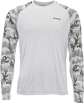 Simms Solarflex - Camiseta de pesca, UPF 50+, protección ...