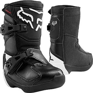 2020 Fox Racing Kids Comp Boots-Black-K10