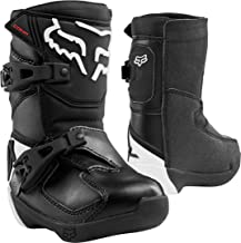 2020 Fox Racing Kids Comp Boots-Black-K11