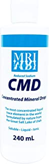 Concentrated Mineral Drops (CMD). 240ML. The Most Concentrated Liquid Trace Element in the World