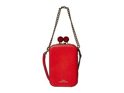 Marc Jacobs The Vanity Crossbody (Bright Red) Handbags