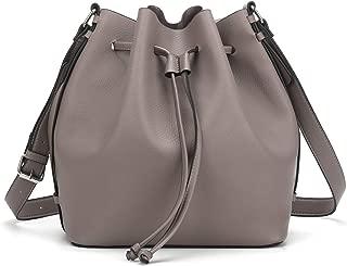 AFKOMST Drawstring Bucket Bag for Women Large Crossbody Purse and Shoulder Bag Tote Handbags