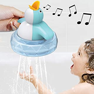 Penguin Bath Toys, Bathtub Toys, Baby Bath Toys, with Music, can Glow and Develop The Baby's Brain