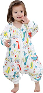 Happy Cherry Baby Sleeping Bag Cotton Sleeping Sack with Feet for Spring Summer