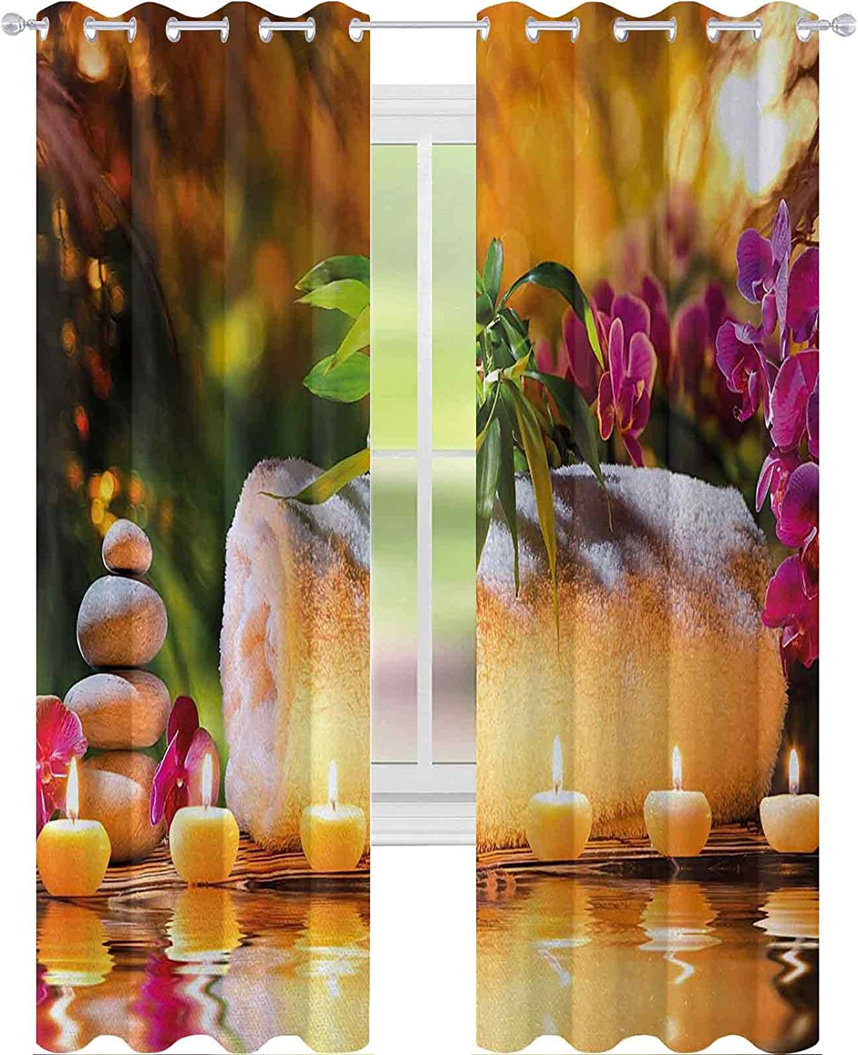 Kids Blackout Curtains Classic Spa Day Garden R The Joy in Limited time Max 64% OFF for free shipping with