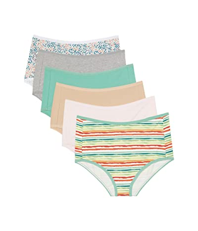 PACT Organic Cotton High-Rise Hipster 6-Pack