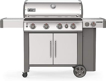 Weber Genesis II 4-Burner Grill - The Best Stainless Steel Unit