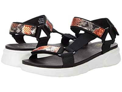 Johnston & Murphy Harper (Coral Snake Print Italian Leather) Women