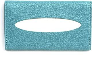 Leatherology Teal Pocket Tissue Holder