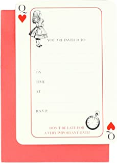 Best alice in wonderland themed invitations Reviews