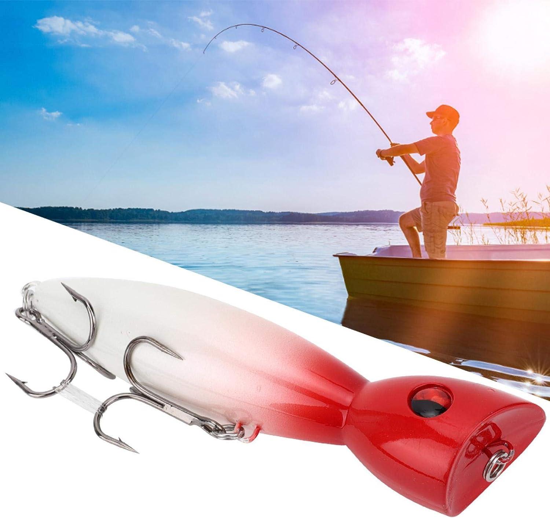 Blue SALUTUYA La Pesca Artificial atrae un dise/ño Realista Resistente con Ojo de pez 3D para Pescar