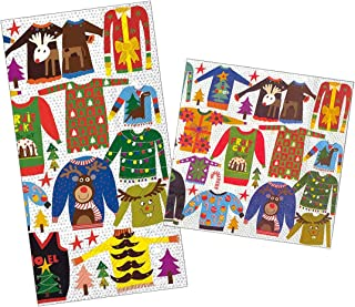Ugly Christmas Sweater Party Napkins - 40 Paper Cocktail Napkins and 32 Paper Guest Towels