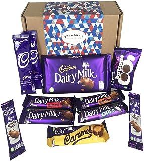 Cesta De Regalo Cadbury Con La Selección Definitiva De Dairy Milk - Cesta Exclusiva Para Burmont's