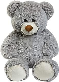 HollyHOME Teddy Bear Plush Giant Teddy Bears Stuffed Animals Teddy Bear Love 36 inch Grey
