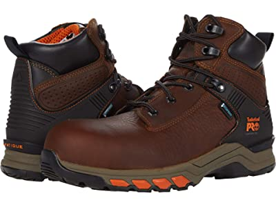 Timberland PRO Hypercharge 6 Composite Safety Toe Waterproof (Brown) Men