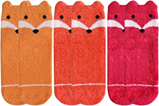 Womens Casual Socks,Vive Bears Soft Cartoon Animal Pattern Non-slip Fashion Slipper Socks