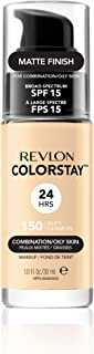 Revlon Colorstay Foundation for Combination/Oily Skin, Buff (Packaging May Vary)
