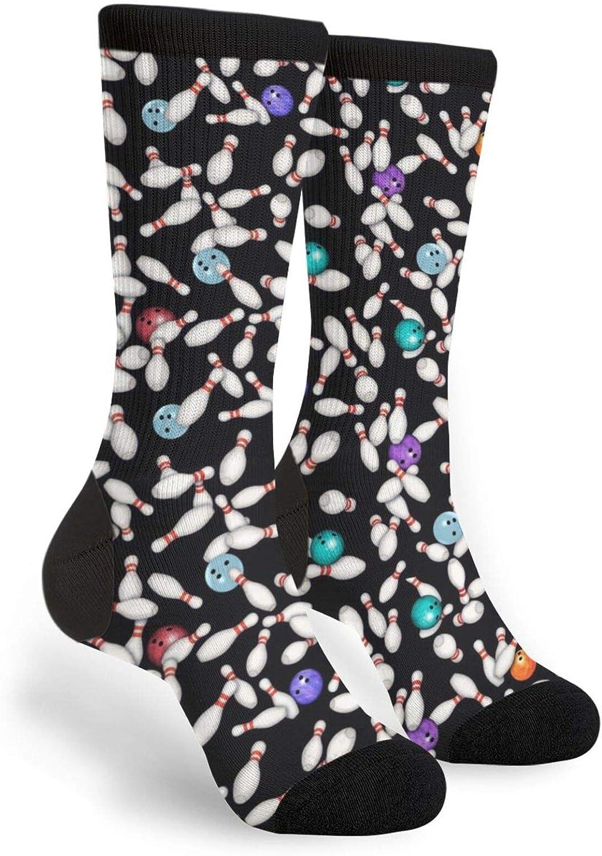 Fashion Casual Socks Bird Songs Moon Unisex Novelty Socks Crew Stockings
